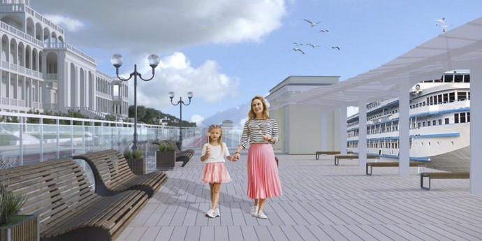 Как будет выглядеть парк Северного речного вокзала после благоустройства?