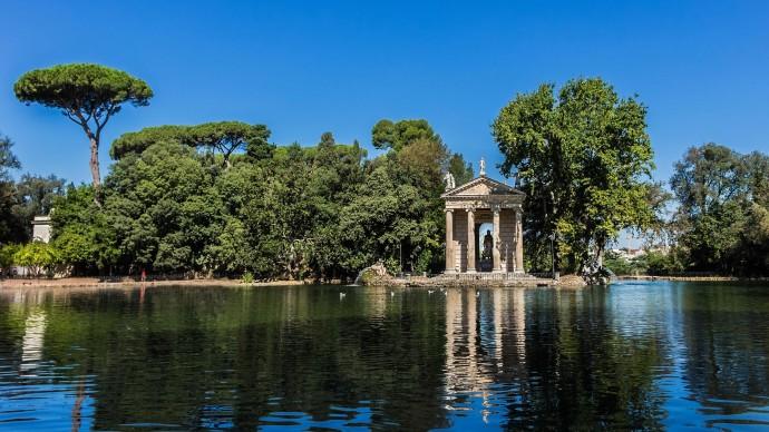 Лучшие парки мира: Вилла Боргезе, Италия