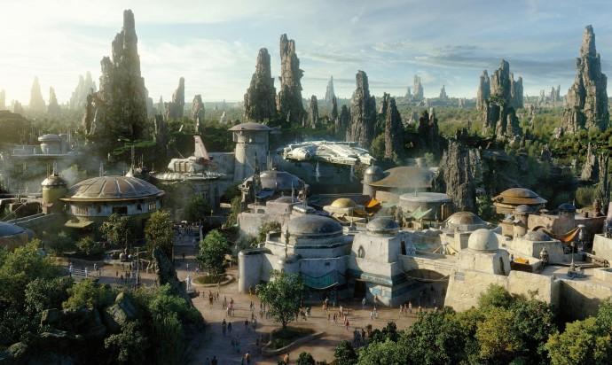 «Звездные войны»: обзор первого парка развлечений по фильмам