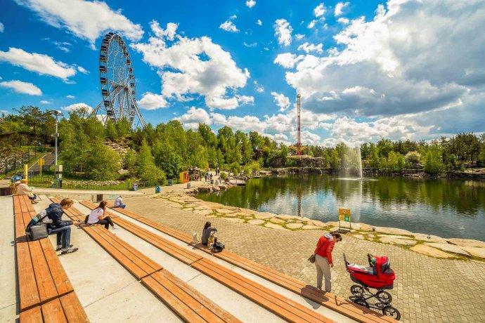 Лето в парках Екатеринбурга: самые яркие фото