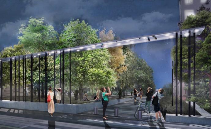 Что изменит новый вход в парк Горького?