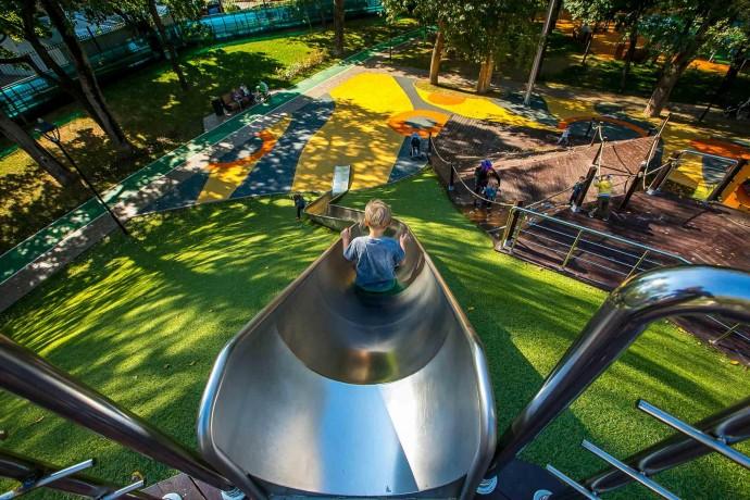 Чем заняться в обновленном Делегатском парке?