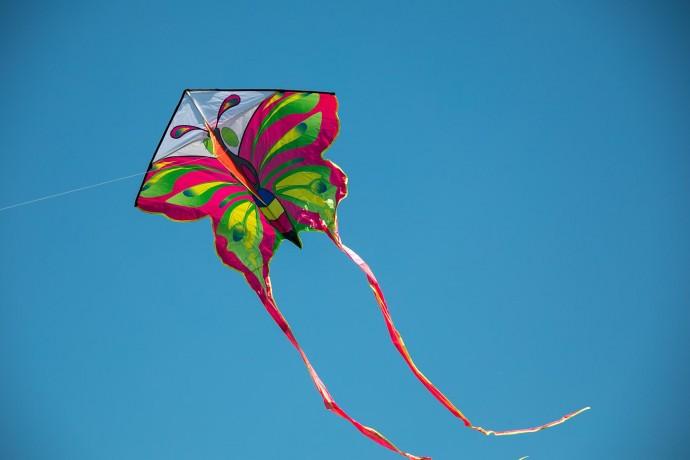 «Пестрое небо»: как прошел фестиваль воздушных змеев
