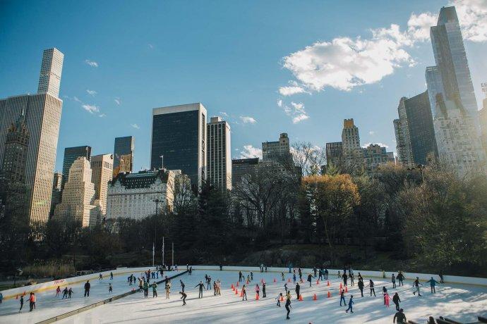 Лучшие парки мира: Уоллмен-каток в Нью-Йорке (спецрепортаж)
