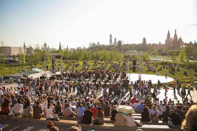Как проходят открытые концерты в «Зарядье»?