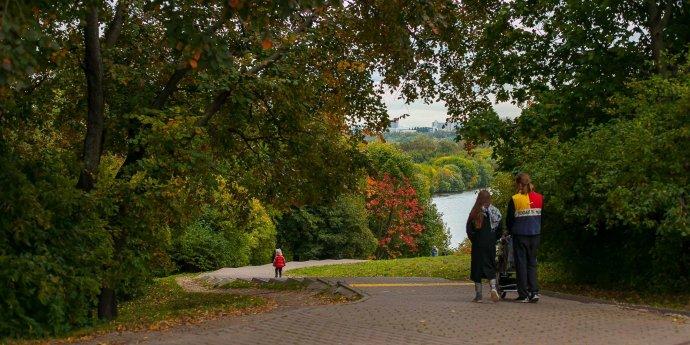 Как выглядит осень в столичных парках?