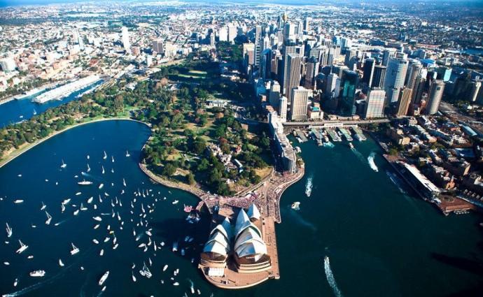 Лучшие парки мира: Королевский ботанический сад, Сидней