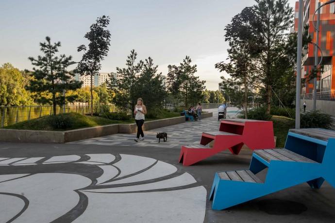 Парк на набережной: пространства нового формата в Москве