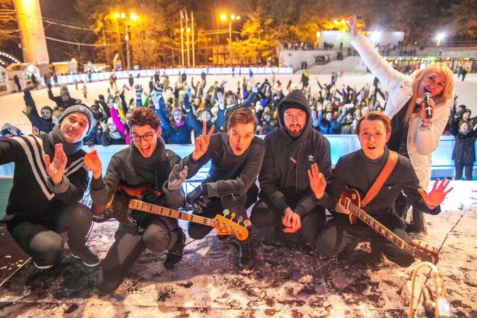 Фото: Открытие рок-катка в «Сокольниках»