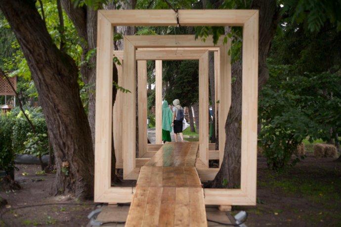 Фото: фестиваль ландшафтного дизайна «Сады и люди» на ВДНХ