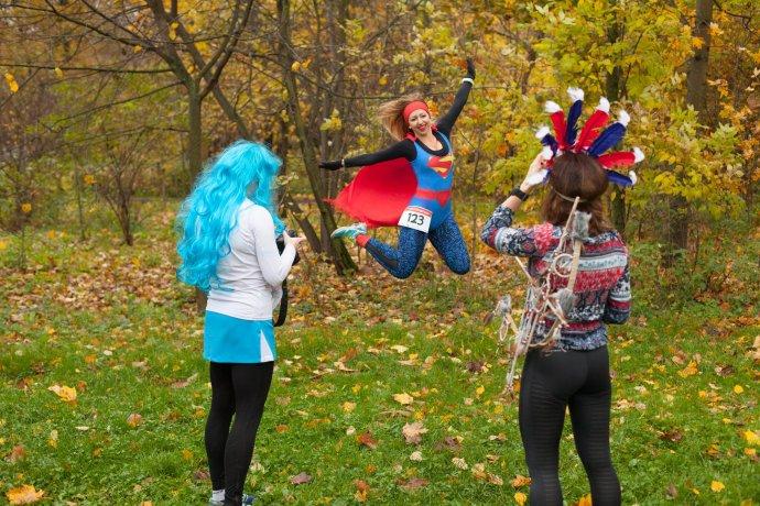 Фото: Забег «супергероев» в «Сокольниках»