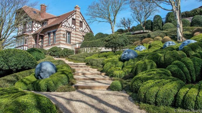 Лучшие парки мира: Les Jardins d'Etretat в Этрета, Нормандия