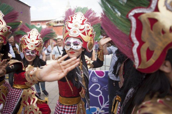 Фото: Фестиваль Индонезии в Саду «Эрмитаж»