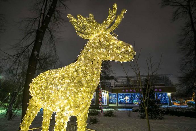 Рождество в парках Москвы: гид ParkSeason