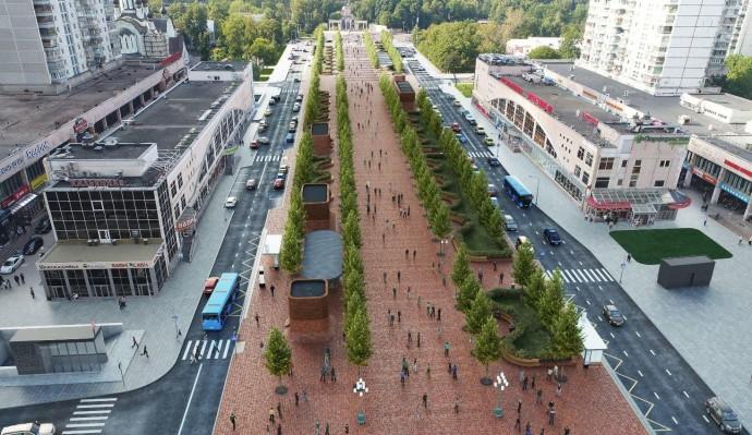 Новое: какой будет Сокольническая площадь после окончания ремонта