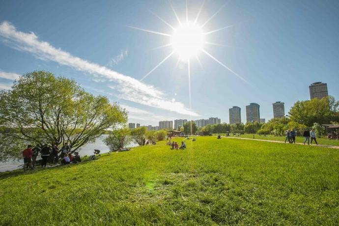 Как выглядит обновленный Строгинский парк