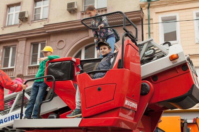 Фото: Парад городского транспорта в Москве