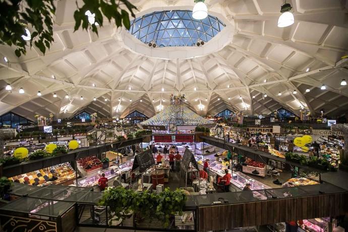 Еда и книги: как прошли выходные на Даниловском рынке