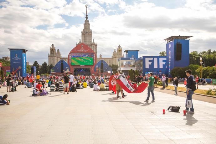 Болельщики в Москве: как проходит Чемпионат мира